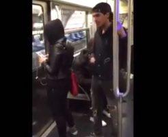 【イタズラ動画】電車の中で悪ふざけww可哀そうだけど笑えるww