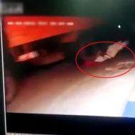 【衝撃 動画】酔った勢いでイッちゃいました・・・トラックに自ら飛び込み脳みそがはじけ飛んでアボーンする瞬間をご覧ください