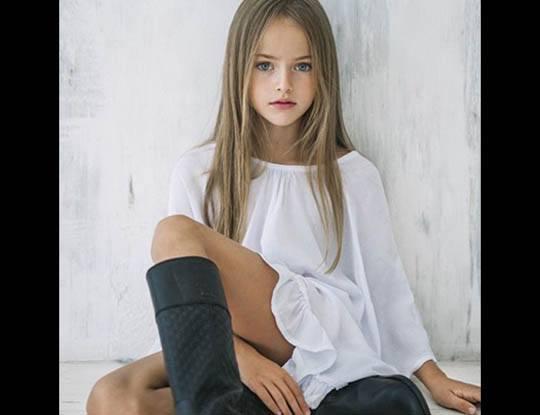 【ロリ注意】「世界で最も美しい女の子」と言われる9歳児かわいすぎwww