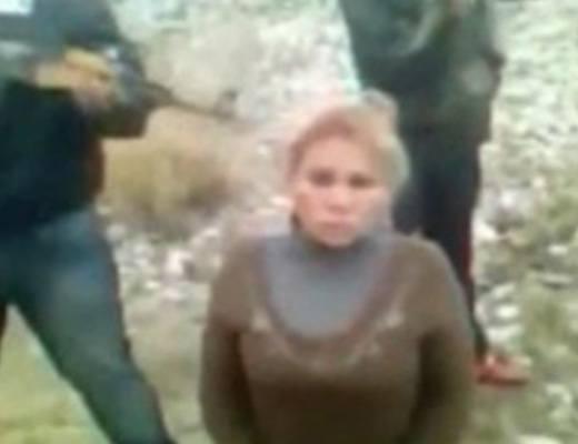 【グロ動画】AK装備中のメキシコカルテルに金髪美女が捕まると・・・
