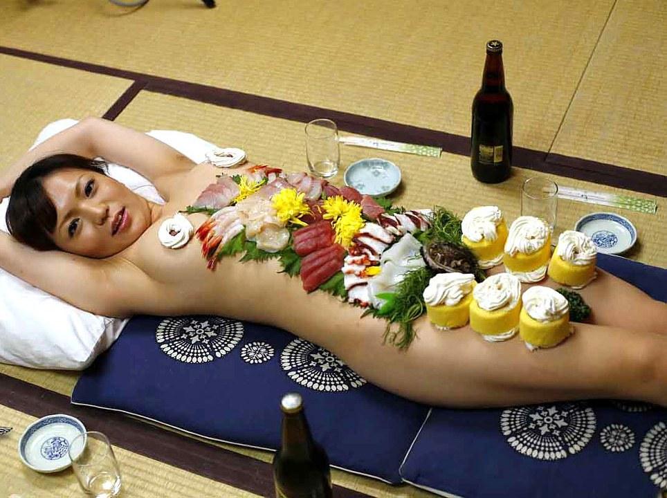 【エログロ】世界の女体盛り展するからちょっと来いwww エロ画像