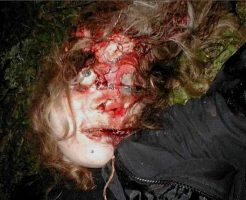 【グロ画像】女の子の目が飛び出して死んでる特殊フェチいたらちょっと来い