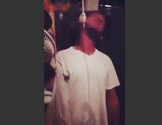 【衝撃動画】レイプして捕まった強姦魔 受刑者さん達に絞首宣告されそのまま実行されもがき苦しむ一部始終映像 ※閲覧注意