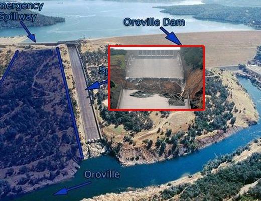 【決 壊 注 意】高さ230M全米一!崩壊しそうな巨大ダムの現状がこんな感じ ※動画