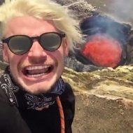 【衝撃映像】馬鹿男が火山噴火映像撮りに行こうとした結果・・・