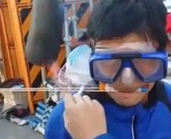 【グロ動画】日本のYOUTUBER、ロケット花火口に咥えてやらかす… ※閲覧注意