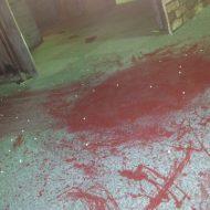 【グロ動画】リアルバイオやんけ・・・滴り落ちる血と血溜まり、上を見上げると・・・