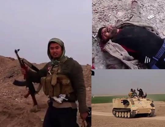 【イスラム国】isisさんの虐殺現場にアジア人いてるんだが コレ日本人ちゃうよな・・・ ※グロ動画