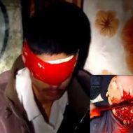 【グロ音】切ってる音が鮮明に聴こえ血がドバドバ流れる斬首映像がめっちゃ高画質で怖くて漏らしたんやけど・・・ ※動画
