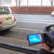 【衝撃映像】街中を赤外線カメラ持って撮影してきたで~!女の子撮ってると思った?大気汚染の確認だったがなw