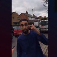 【衝撃映像】キレたイスラム教徒さん デブに名言を残すw「てめぇは豚食ってるからそんな体型してるだろ!この野郎!!」www