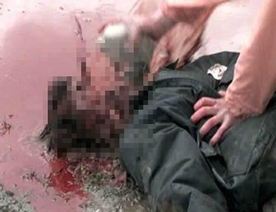 【グロ動画】トントントントンヒトノカオ♪ブラジル囚人さんがエンドレスで嫌いな奴の頭を殴り続けた結果→ ※閲覧注意