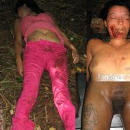 【女 死体】女の子の死体が見つけたら取りあえずマンコはちゃんと接写しとくのが警察流w ※エログロ画像