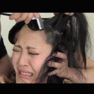 【本物レイプ動画】少女がバリカンで丸坊主にされながら生チンコで犯され続ける映像で抜ける奴は変態確定w