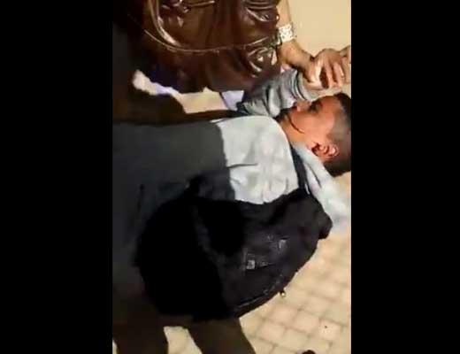 【いじめ動画】キックが顔面に入って全身プルプルしてる少年にみんなビビってるんやけど・・・これってどうなの??? ※衝撃映像