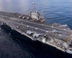 【アメリカ海軍】米軍航空母艦の新しいカタパルトのテスト映像 ここから戦闘機がスクランブルするんですね!わかります ※おもしろ映像