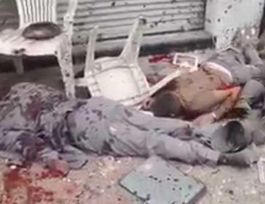 【テロリズム】キリスト教の礼拝やってんな~こいつらゴミやから見せしめ用に爆破しとこか!エジプトテロの現場が悲惨すぎる・・・ ※グロ動画