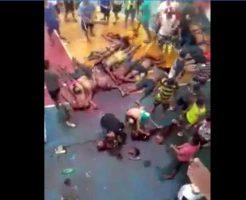 【解体映像】ブラジル刑務所の休憩時間のお遊びはいっぱい殺してバラバラにするバトルロワイヤルだった模様・・・ ※グロ動画