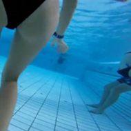 【盗撮】うほっ、いい眺めwwプールの水中でカメラ撮影したらエロス世界が広がってた件w
