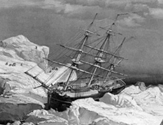 【グロ画像】19世紀最大の遭難、北極航路遠征隊の遺体埋葬現場
