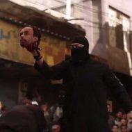 【isis処刑映像】多くの見物人の前で4人斬首して生首持って雄叫びをあげるイスラム国の人達ほんと怖過ぎ・・・ ※グロ動画