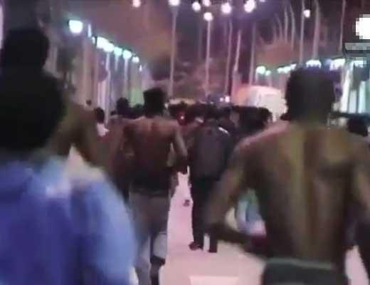 【難民問題】もう許せるぞオイ!難民さんにブチ切れたヨーロッパ人達 遂にブチ切れ立ち上がった模様 ※衝撃映像