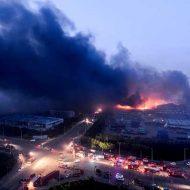 【チャイナボカン】中国の伝統芸能の一つ天津大爆発の現場写真を見て世紀末やんって感じるスレはこちら ※微グロ動画