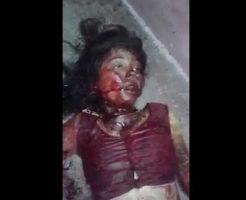 【女 殺人】血まみれで痙攣してる瀕死の女の子を見つけてしまったので死ぬまで犯人はヤスだって問いただしてみるw ※グロ動画
