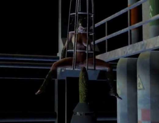 【3Dエロアニメ】対おマンコ用決戦兵器ゴーヤロケットで凌辱される女の子をご覧くださいw 尚サイズ感w※無修正エロ動画