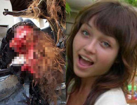 【女 死体】生前の写真と女の子が死んだ時の写真を見比べてドの娘を嫁にするか選んでクレメンスw ※グロ画像