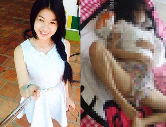 【レイプ殺人】この18歳の女の子さん 完全に犯された状態で発見されてしまう・・・ ※グロ画像