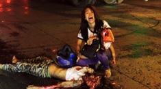 【少女 死体】目の前で娘の顔が潰された母親がヤバすぎる・・・グロ画像