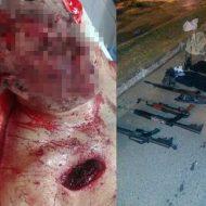 【麻薬抗争】火力が現地警察3倍あると言われてる南米麻薬カルテルの銃撃現場がコレ 装備が軍レベルで怖すぎる・・・ ※グロ画像