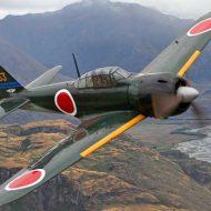 【戦闘機】戦後初めて空を飛んだゼロ戦の雄姿はこちら 意外に戦後初飛行なんですな~ ※おもしろ動画