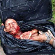 【バラバラ死体】カルテルさんの死体処理の基本はバラバラにしてスーツケースに詰めて路上にぽいっw ※グロ画像