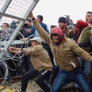 【難民問題】国境に壁が無いヨーロッパの現状がこれ そらテロリストが集まる訳だwww ※衝撃映像