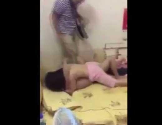 【暴力事件】セックス中の男女に童貞野郎共が嫉妬して殴りまくる現場が怖すぎwww ※衝撃映像