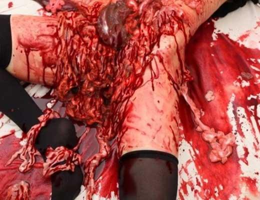 【女 解剖】JK少女さんの綺麗な死体手に入ったからバラバラにしてみるけどなんか質問ある? ※グロマップ