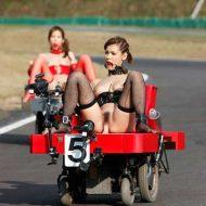【マジキチAV】日本のマジキチAVが斜め上過ぎwセックスしながらレースするとかぶっ飛んでるなwww ※エロ動画