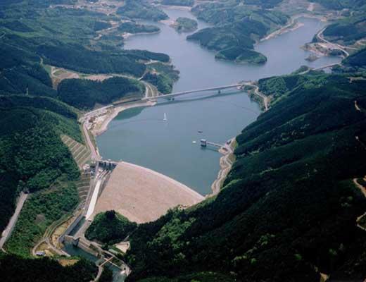 阿木川ダム風景写真
