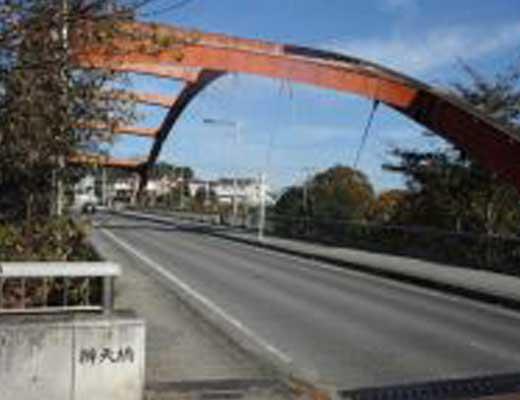 弁天橋風景写真