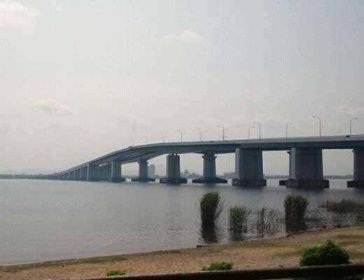 琵琶湖大橋風景写真
