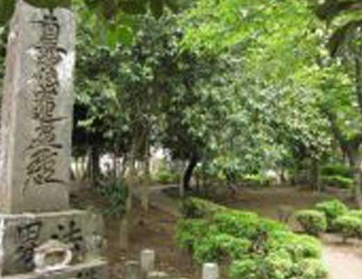 江原刑場跡風景写真