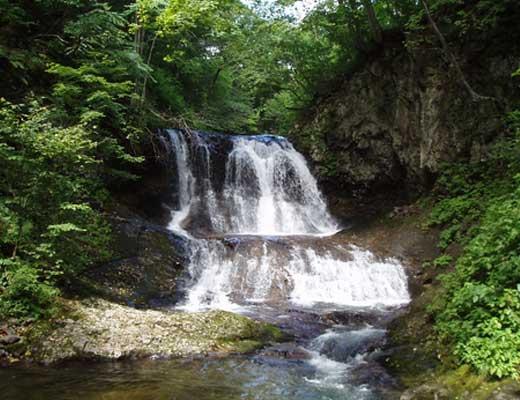 平和の滝風景写真