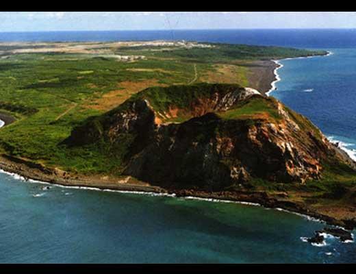 硫黄島風景写真