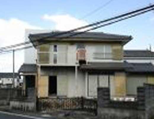 甚目寺の家風景写真