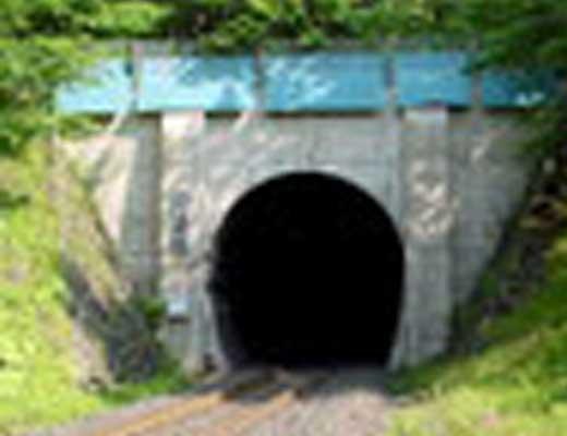 常紋トンネル風景写真