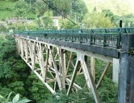 熊走大橋風景写真