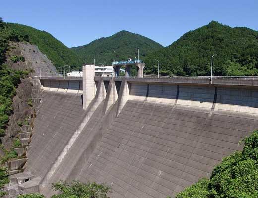 天理ダム風景写真