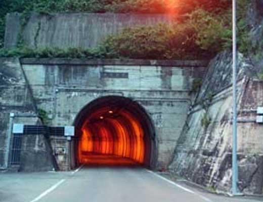 豊沢隧道風景写真